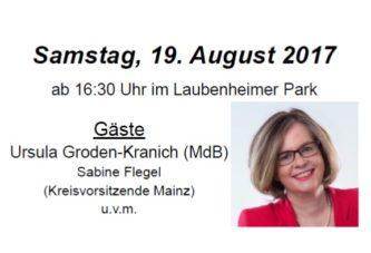 31. CDU-Parkfest