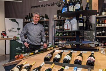 Gute Lage für Weinhandel
