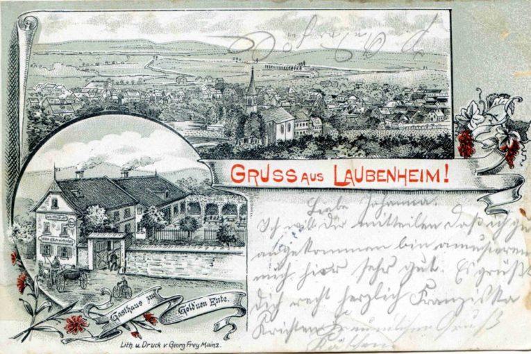 Historisches Laubenheim mit neuen Bildern