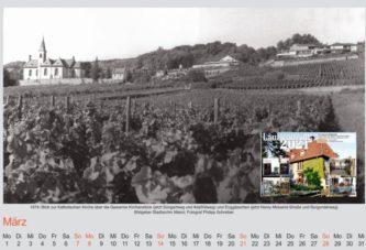Kalenderblatt Alt-Laubenum März 2021