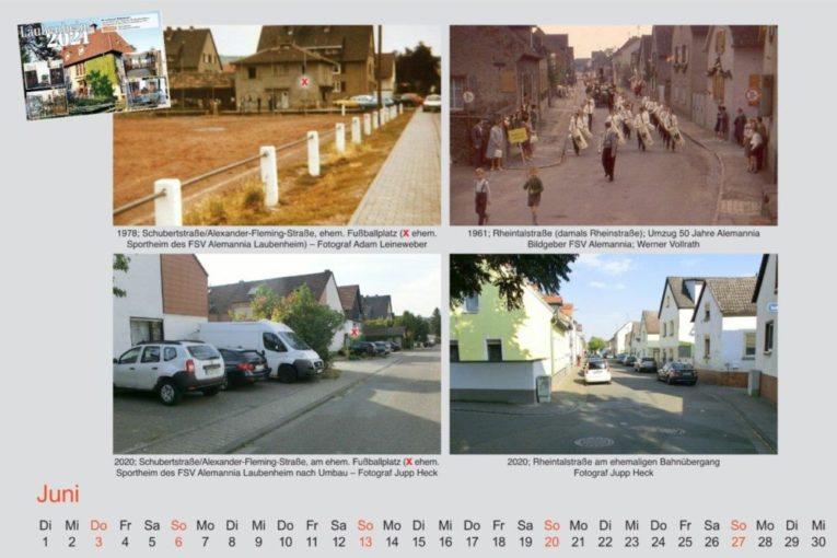 "Kalenderblatt ""Alt Laubenum"" Juni 2021"