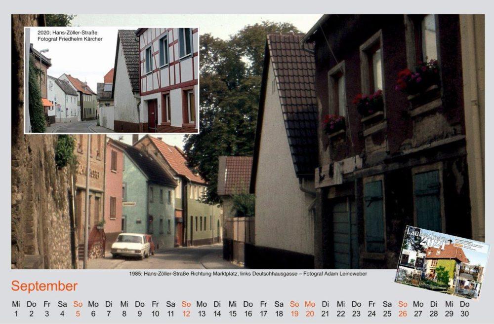 Kalenderblatt September 2021