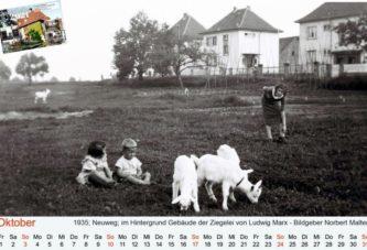 Bild-Kalender Alt-Laubenheim Oktober 2021
